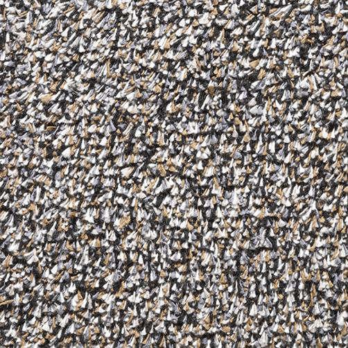 Türmatte Baumwolle Naturflex granit