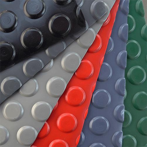 Noppenläufer Bodenbelag - verschiedene Farben