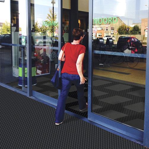 Schmutzschleusen - Schmutzfanglösung für große Eingangsbereiche