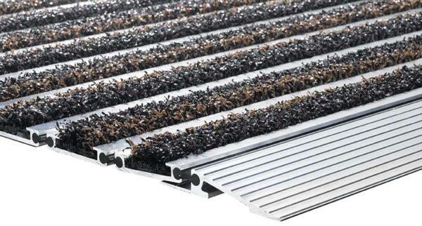 Bürstenmatte Top-Line Aluminiummatte