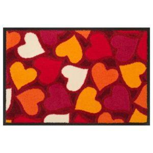 Designmatte Love - Rot und Orange