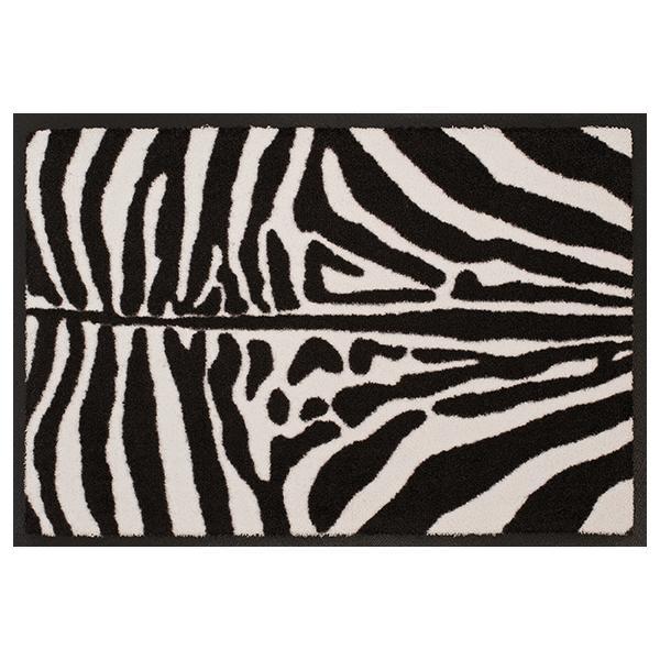 Designmatte mit Zebramuster
