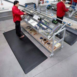 ESD-Matten bei elektrostatischer Aufladung, Überspannung
