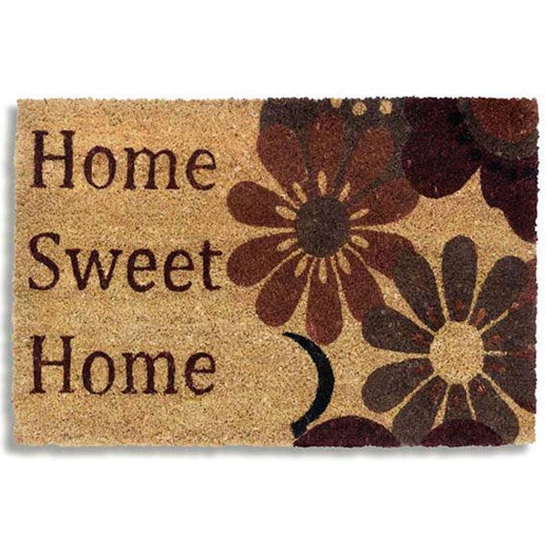 Kokosmatte Home Sweet Home