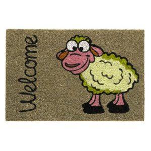Kokosmatte mit Schaf