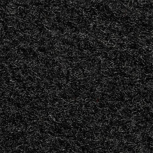 Flordetail Kunstkokosmatte schwarz