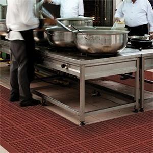 Arbeitsplatzmatten für das Lebensmittelgewerbe