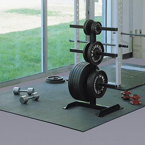 Slabmat - Einsatz im Fitnessrsaum