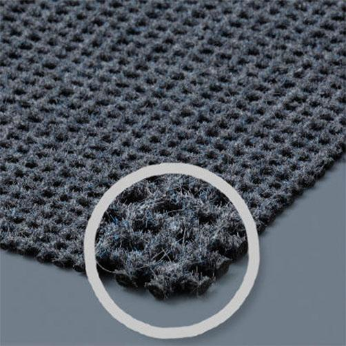zur Haftung von Schmutzfangmatten auf textilen Böden