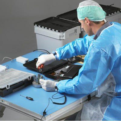 ESD-Tischmatte in der Elektronik