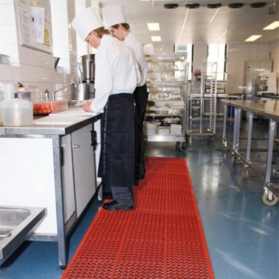 Arbeitsplatzmatte für Lebensmittelbereiche