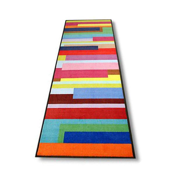 Desihgnmatten Colorstripes lang