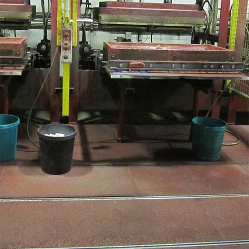fallschutzmatten im Industriebereich