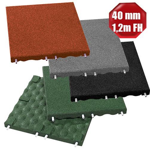 Fallschutzplatten Stecksystem 40mm Stärke