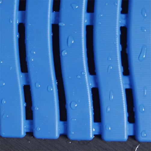 Barfussmatte Soft-Step blau