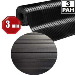 Gummiläufer - P3 - breite Rippen