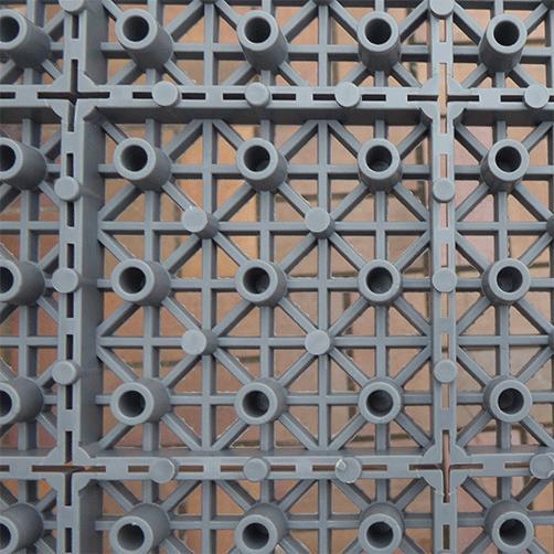 Stecksystem in zwei Farben für Innen- und Außenbereiche , im Keller, in Gewerben