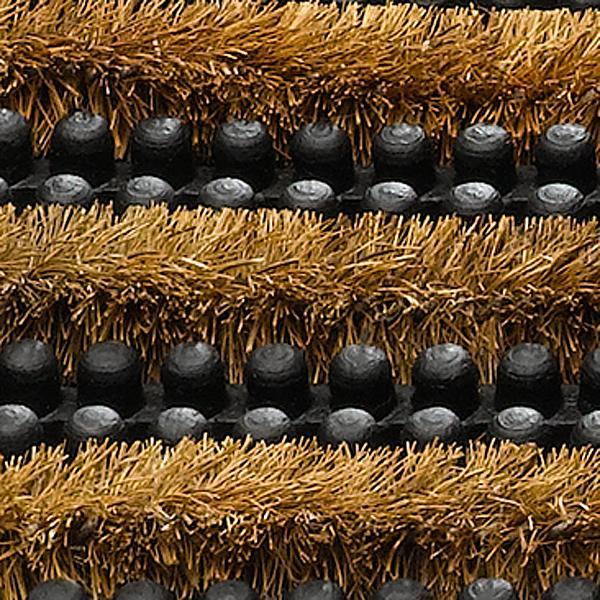 kokos-gummi-schmutzmatte Gummifinger, Kokosreihen