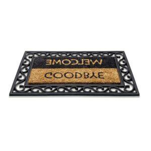 Kokos-Gummimatte Welcome Goodbye