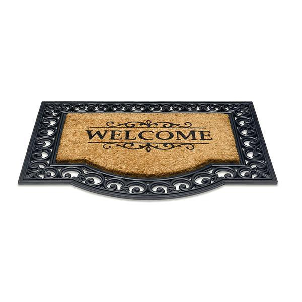 Kokos-Gummimatte Klassik Welcome