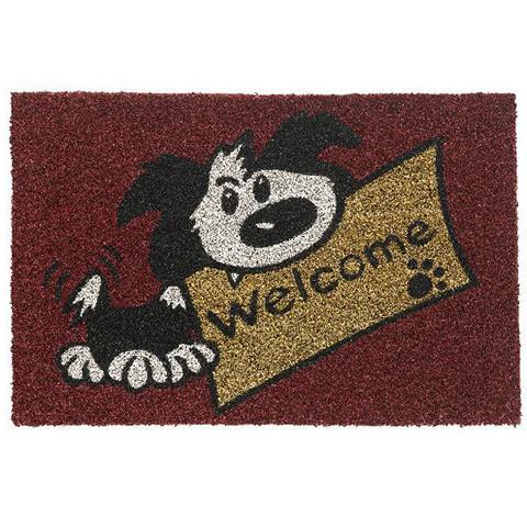 kokosmatte-welcome-dog