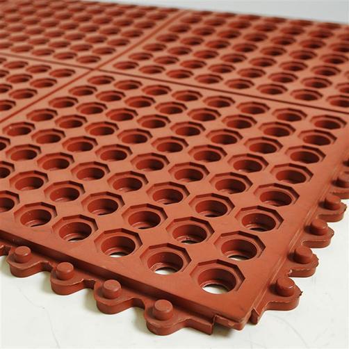 Ölbeständiges Bodenplatten-Stecksystem