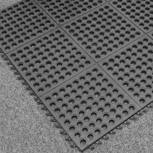 wabenmatten-Stecksystem-schwarz