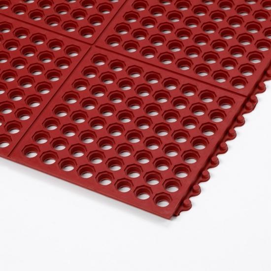 Steckfliesen Cushion Ease Red (TM)