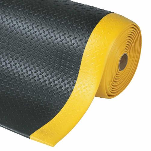 Antiermüdungsmatte schwarz-gelb