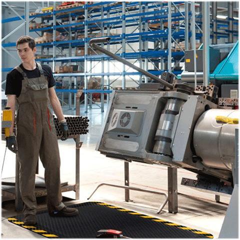 ESD-matte-Industrie