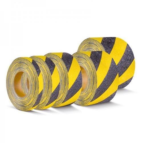 Warnmarkierung Gelb-Schwarz Rolle