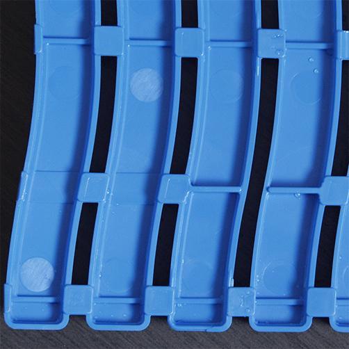 Barfussmatte Soft-Step Unterseite